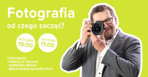 Podstawy fotografii - szkolenie - Vireo Media